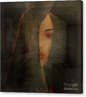 Enigma Canvas Print by Irma BACKELANT GALLERIES