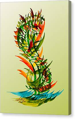 Enjoy Your Life Canvas Print by Mah FineArt
