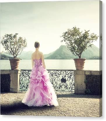 enjoying Italy Canvas Print by Joana Kruse