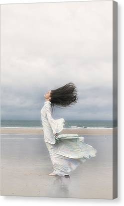 Enjoying The Wind Canvas Print by Joana Kruse