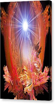 Enlightened One Canvas Print by Michael Durst