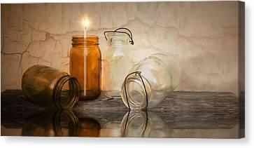 Enlightened Canvas Print by Robin-Lee Vieira