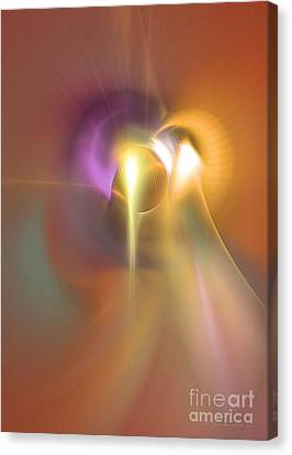 Enlightened Canvas Print by Sipo Liimatainen