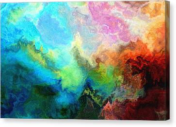 Enlightenment Canvas Print by Jury Onyxman