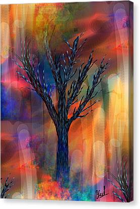 Enlightenment Canvas Print by Yul Olaivar