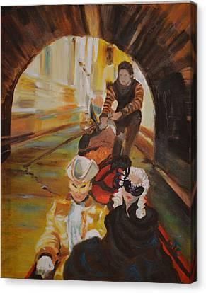 Ennui In Venice Canvas Print
