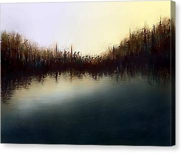 Eno's Sunset Canvas Print