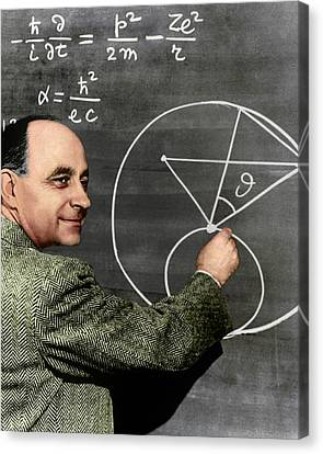 Enrico Fermi Canvas Print