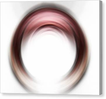Enso Blush - Abstract Art By Sharon Cummings Canvas Print by Sharon Cummings