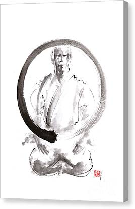 Enso. Zen Circle Martial Arts. Canvas Print