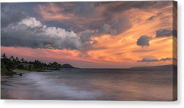Ensuing Light Canvas Print by Hawaii  Fine Art Photography