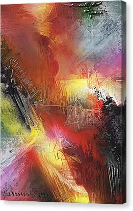 Entite Canvas Print by Francoise Dugourd-Caput