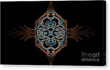 Entity Variation 3 Canvas Print by Devin Cogger