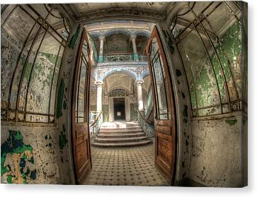 Entrance Of Beauty Canvas Print by Nathan Wright