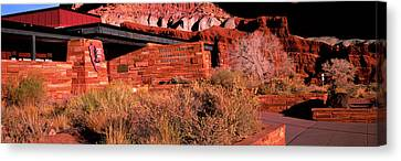 Entrance Of Capitol Reef National Park Canvas Print