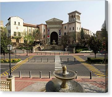 Entrance Of Montecasino, Johannesburg Canvas Print by Panoramic Images