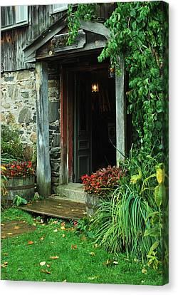 Entrance Canvas Print