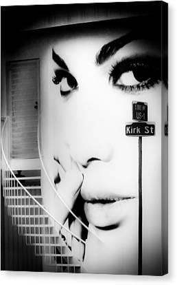 Entrance To A Woman's Mind Canvas Print