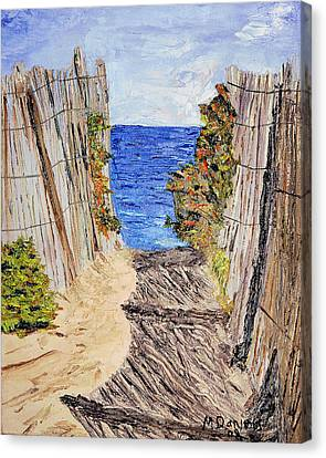 Entrance To Summer Canvas Print by Michael Daniels