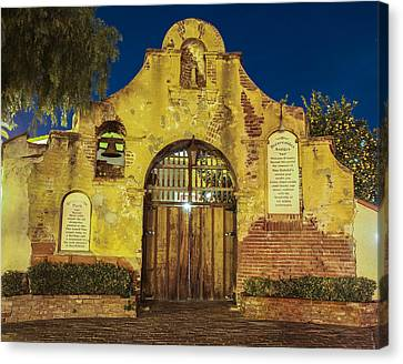 Entrance To The Vineyard Canvas Print