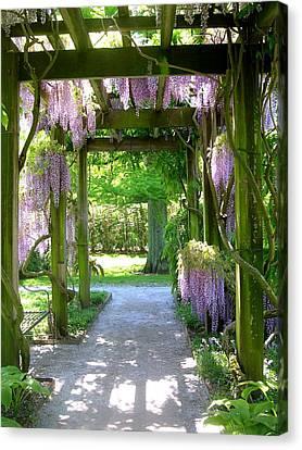 Entranceway To Fantasyland Canvas Print