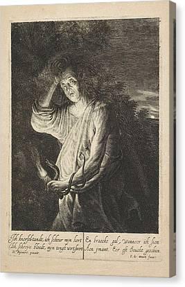 Envy, Jean De Weert Canvas Print by Artokoloro