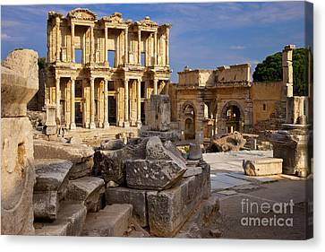 Ephesus Turkey Canvas Print by Brian Jannsen