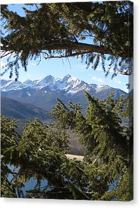 Canvas Print featuring the photograph Epic by Karen Shackles
