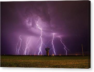 Epic Lightning Canvas Print