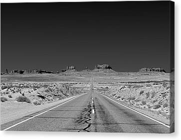 Navajo Nation Canvas Print - Epic Monument Valley by Christine Till