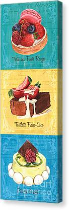 Epicerie Panel 1 Canvas Print by Debbie DeWitt