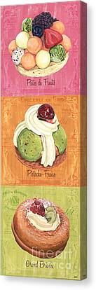 Epicerie Panel 2 Canvas Print by Debbie DeWitt