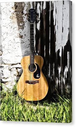 Epiphone Caballero Canvas Print by Bill Cannon