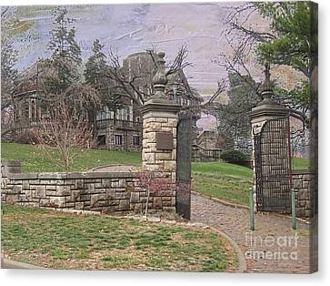 Epperson House House On The Hill Canvas Print