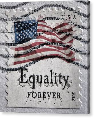 Equality Forever Canvas Print