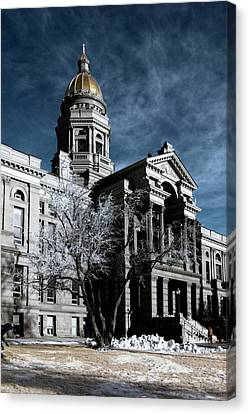 Equality State Dome Canvas Print by Greg Collins