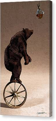 Wagon Wheels Canvas Print - Equilibrium Iv by Cynthia Decker