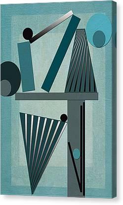 Equilibrium Canvas Print by Linda Dunn