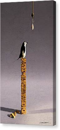 Stacked Canvas Print - Equilibrium V by Cynthia Decker