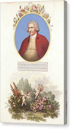 Erasmus Darwin Charles Darwin Grandfather Canvas Print by Paul D Stewart