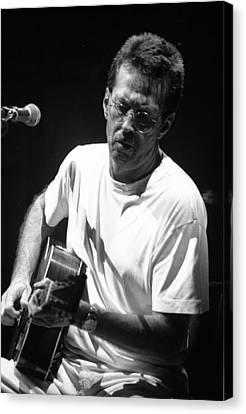 Eric Clapton Canvas Print - Eric Clapton 003 by Timothy Bischoff