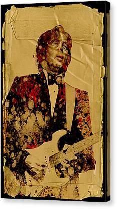 Eric Clapton 2 Canvas Print