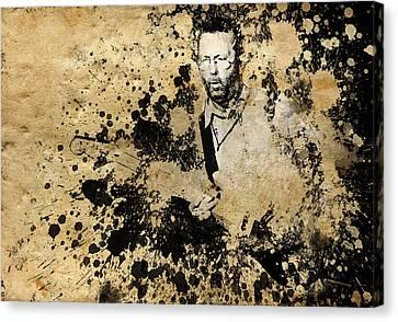 Eric Clapton 3 Canvas Print by Bekim Art