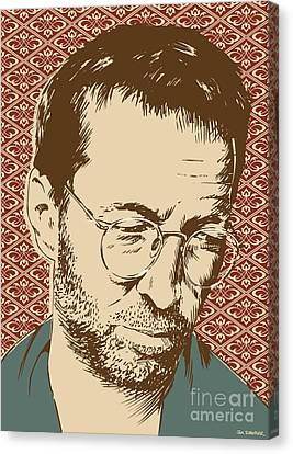 Eric Clapton Canvas Print by Jim Zahniser