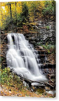 Canvas Print featuring the photograph Erie Falls by David Stine
