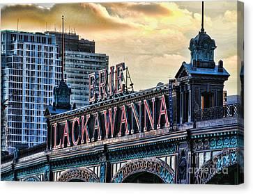 Erie Lackawanna Station Hoboken Canvas Print