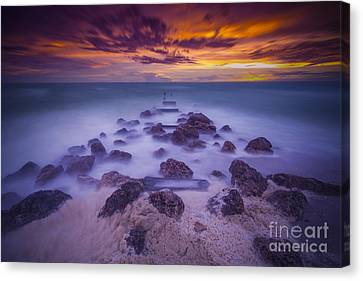 Eroded Canvas Print by Marco Crupi