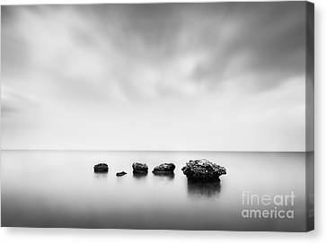 Erosion Canvas Print by Rod McLean