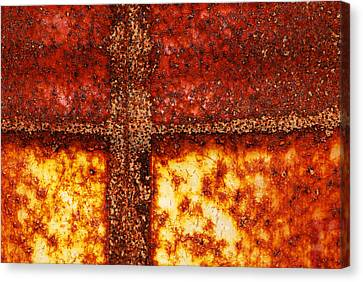 Canvas Print featuring the photograph Erosion by Wendy Wilton