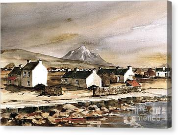 Errigal From Gola Island Donegal Canvas Print